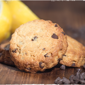 cookie citron chocolat du local en bocal
