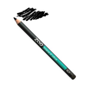 crayon Zao noir du local en bocal