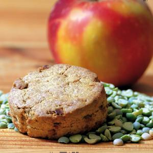 biscuit pomme du local en bocal