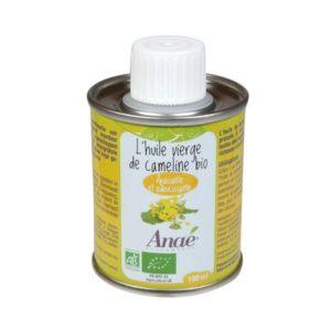 huile capeline du local en bocal