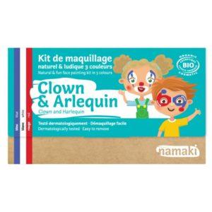 kit maquillage clown du local en bocal