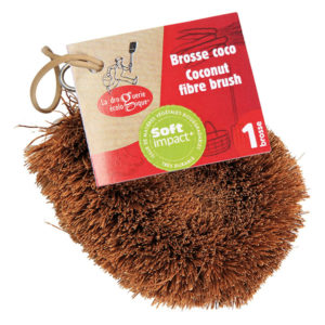 brosse coco du local en bocal
