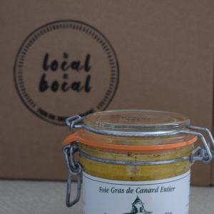 foie gras 130g du local en bocal