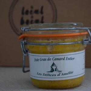 foie gras 200g du local en bocal