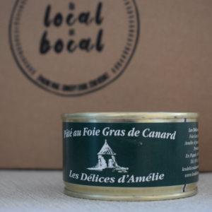 pate foie gras du local en bocal
