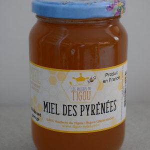 miel Pyrénées du local en bocal