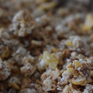 granola du local en bocal