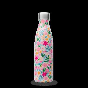 bouteille flora rose qwetch du local en bocal